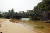 Jembatan menuju Cagar alam Sawarna