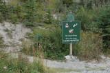 Trail signboard