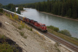 miles of Train cargoes at Banff