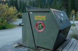 bear proof trash bin