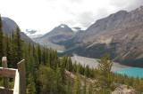 Peyto Peak 2,901m, Peyto Lake Banff