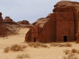 Aramco magazine told that little remaining inside the tomb