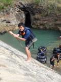 akhir dari penjelajahan gua