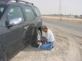 lowering tyre pressure down to 15 psi