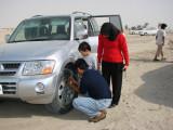 Preparing the dune bushing