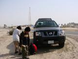 waiting to start dune journey