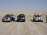 on the middle of journey to Khor Al Udeid