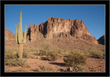 Superstition Mountains (south end)