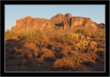 Superstition Mountains at Sunset #1