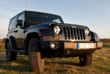Jeep Wrangler Sahara 2012 black forest green