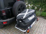 Thule easybase and basket and easybag