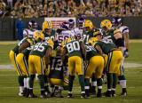 Green Bay Packers Huddle