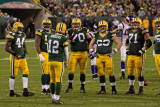 Aaron Rodgers and the Green Bay Packers Offensive Line