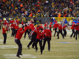The University of Wisconsin Marching Band at Halftime