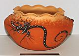 Zuni 4-Lizzard Pot (Deldrick Cellicion)