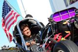 2011 - Kebin Kinsley Nitro Nostalgia Funny Car Testing - Texas Raceway