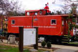 Caboose along the WO&D