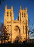 National Cathedral at Dusk