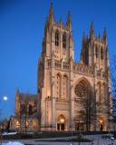 Washington National Cathedral at Moonrise
