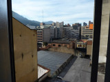 View from Hotel in Bogota