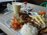 Lunch at Bucaramanga Bus Terminal