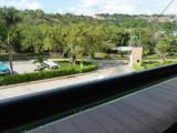 View from restaurant at Bucaramanga Bus Terminal