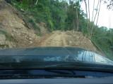 Landslide En route to Pauxi Pauxi