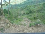 Landslide 2 En route to Pauxi Pauxi