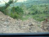Landslide 3 En route to Pauxi Pauxi