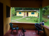 Accomodation area at Blue-billed Curassow Reserve / RNA El Paujil