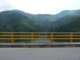 The damaged bridge nr Chestnut-capped Piha Reserve / RNA Arrierito Antioqueno