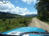 Road from Urrao to El Carmen del Atrato