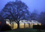 Fives Court at dusk
