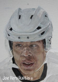Painting of Jarome - The Helmet