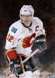Painting of Jarome - The Gloves and Stick