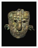Mosaic Burial Mask of the Mayan Red Queen