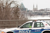 Sur le pont du Portage, partie ontarienne / On Portage Bridge, Ontario Section