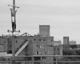 Anciens bâtiments d'E.B. Eddy, vus du pont du Portage