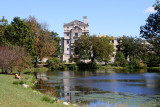 Memorial Union and Lake Laverne