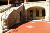 Patio of Catt Hall