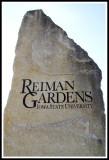 Rieman Gardens Stone Sign