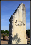 Rieman Sign and Row of Planters
