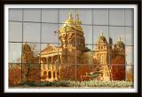 The Iowa Capitol in Abstract