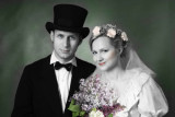 Madga and Michal's Wedding Portrait