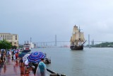 The Bounty departing Savannah