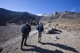 We set out for our acclimatization hike!