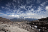 Final rest for the day, ~16000 ft.