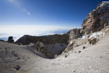 YES!  The crater rim.