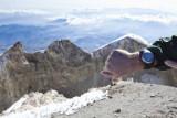 Steven's Garmin watch tells us the elevation is 18520!