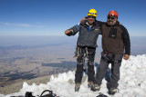 Our guides, Javier Leyva (left) and Roberto Oso Flores (right).